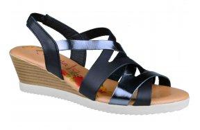 63c380e1515 Γυναικειες Πλατφορμες Marila Shoes 748-6032-29 Μαυρο/Ανθρακι. Γυναικεία  Κλασικά Παπούτσια