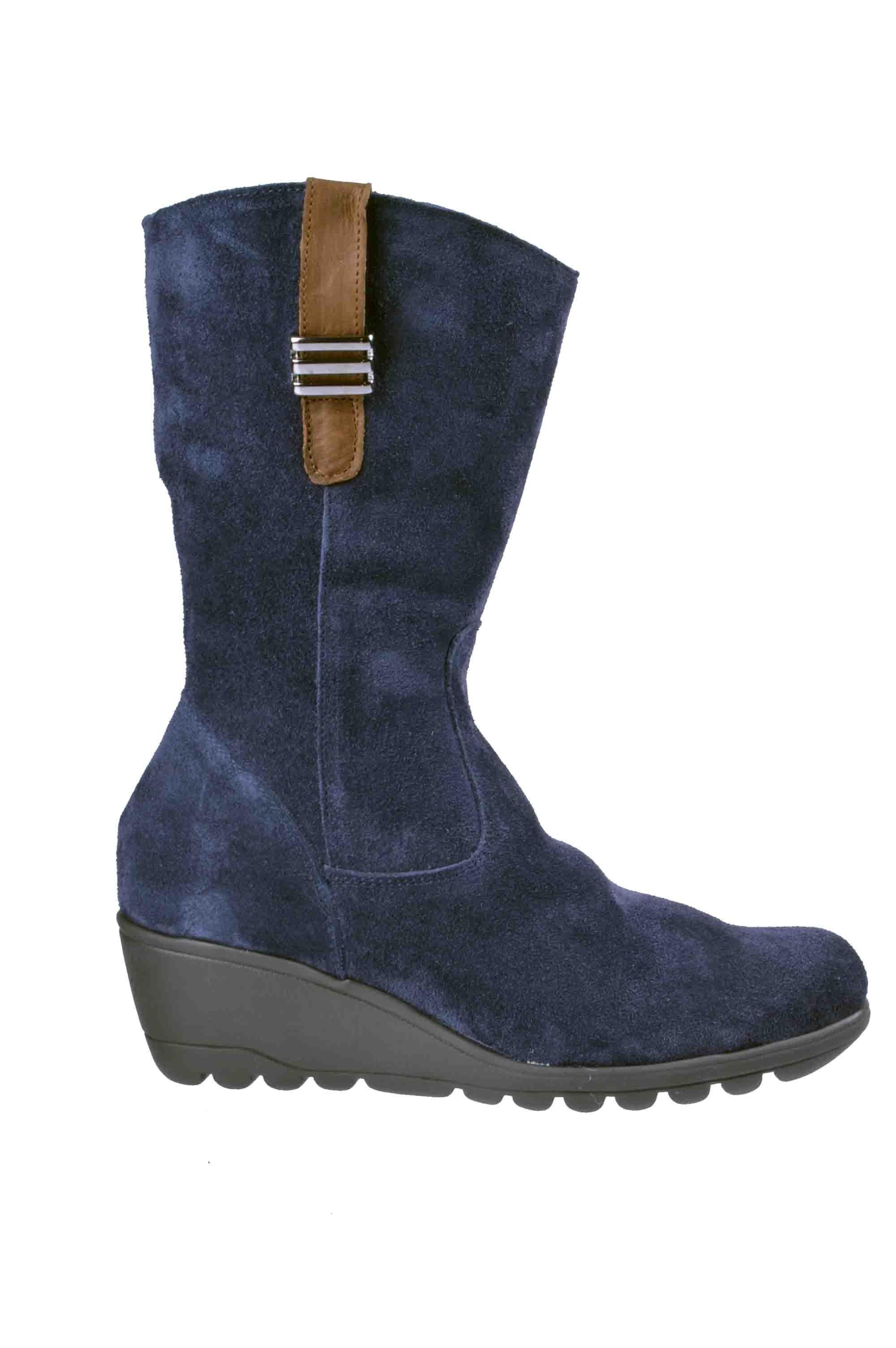 7d76a08e3ec ... Γυναικεια Δερματινα Μποτακια Apostolidis Shoes City Boot Μπλε ...