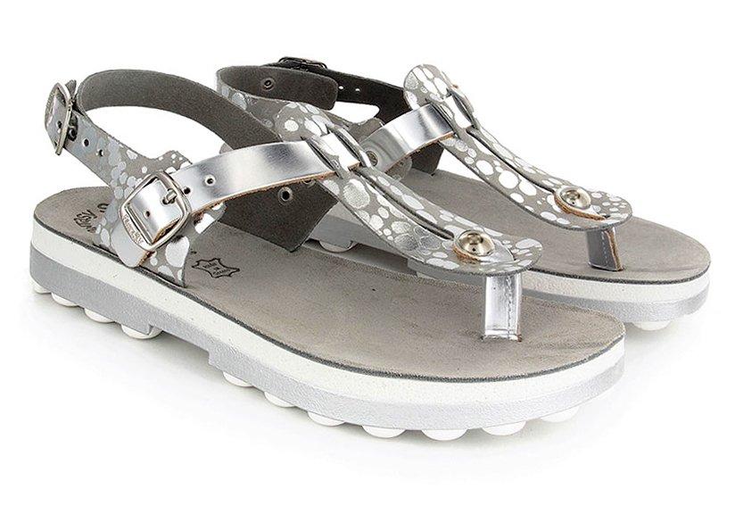 7cf8ff3846 Fantasy Sandals Marlena S9005 Grey Splash