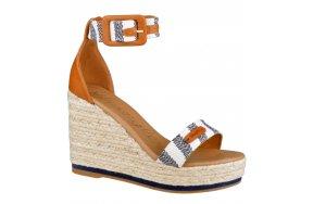 Wrangler Shoes Kay Sandal Stripes Μπλε/Λευκο
