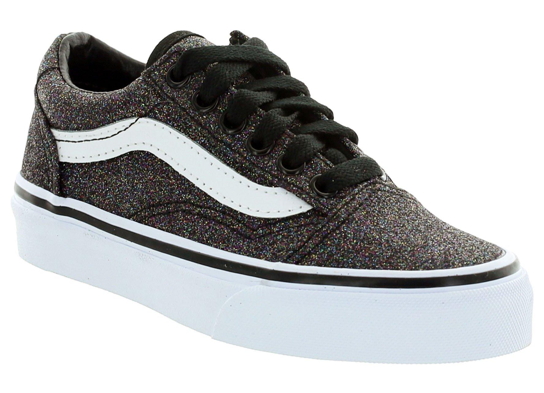 f1b65134031 Vans Old Skool (Glitter) VN0A38HBQ7E (Glitter) Rainbow Black ...
