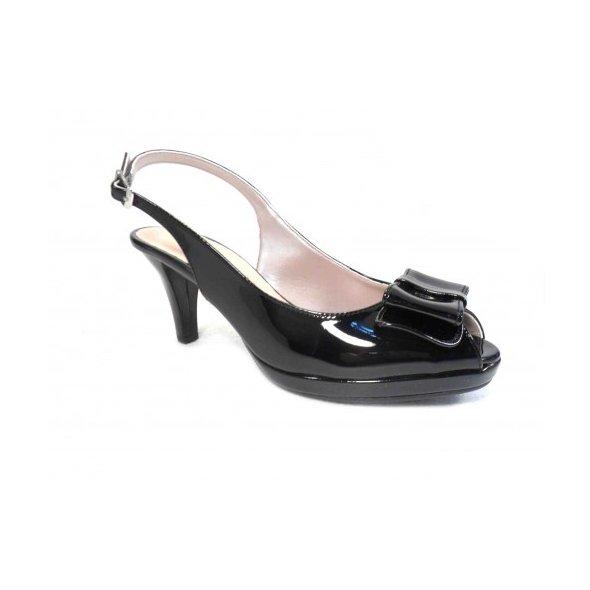 70f9913f534 Γυναικεια Πεδιλα Stefania 518 Μαυρο | Apostolidis Shoes