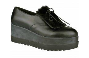 Γυναικεια Casual Παπουτσια Queens 1602 Μαυρο