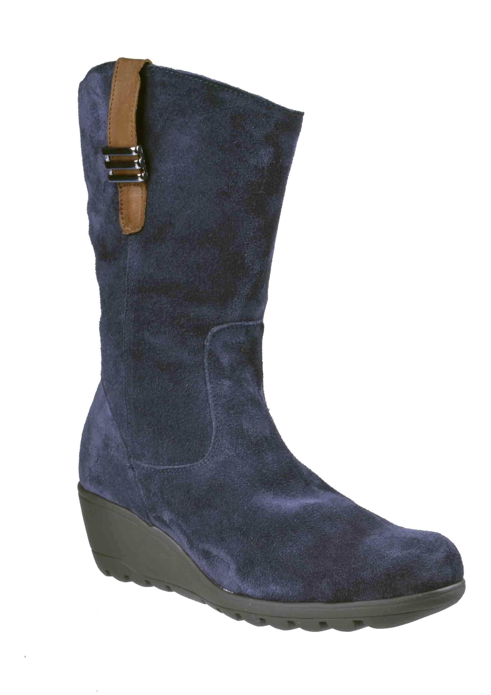 f0048470e5e Γυναικεια Δερματινα Μποτακια Apostolidis Shoes City Boot Μπλε ...