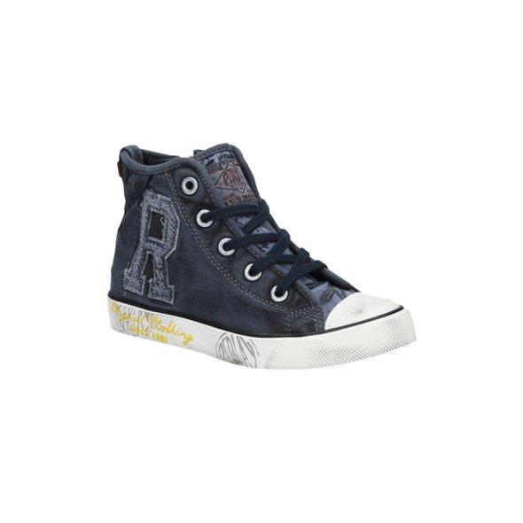 1e87f8ba8bb Παιδικα Μποτακια Replay Kids Geary Μπλε   Apostolidis Shoes