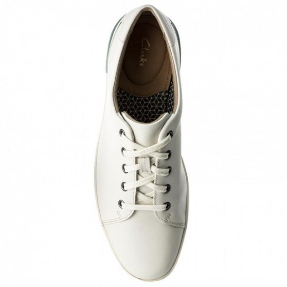 Clarks Stanway Lace Λευκο